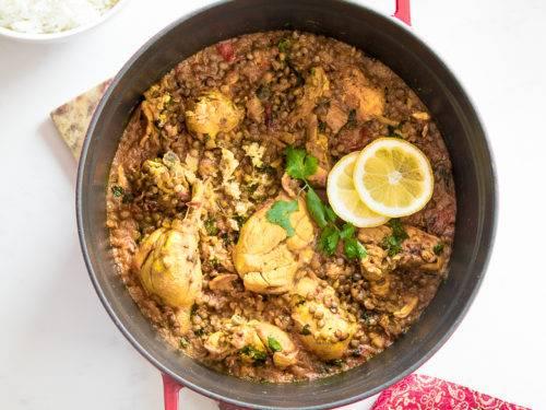 Chicken Dhansak - Bombay Chili