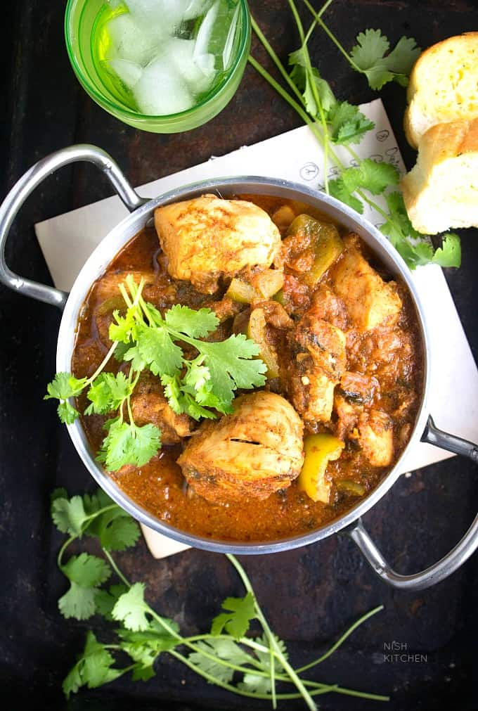 Chicken Karahi - Bombay Grill Chili
