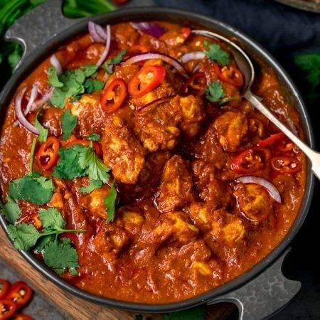Chicken Madras Curry - Bombay Chili