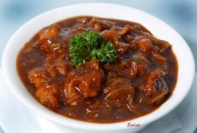 Chicken Manchurian - Bombay Chili