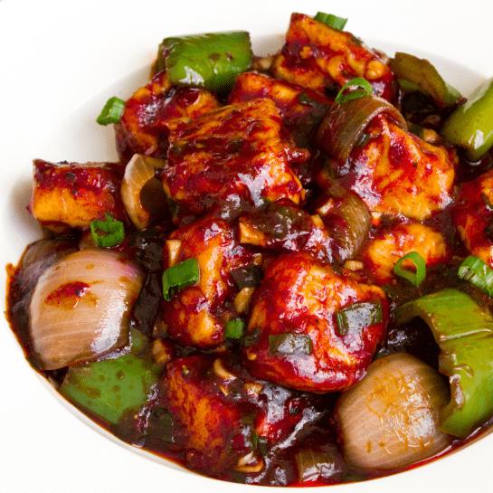 Chili Paneer - Bombay Chili