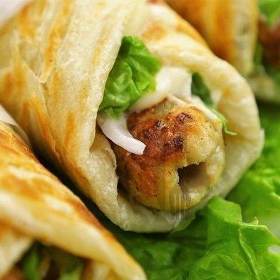 Chicken Kabab Roll - Bombay Chili