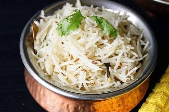Jeera Rice - Bombay Chili