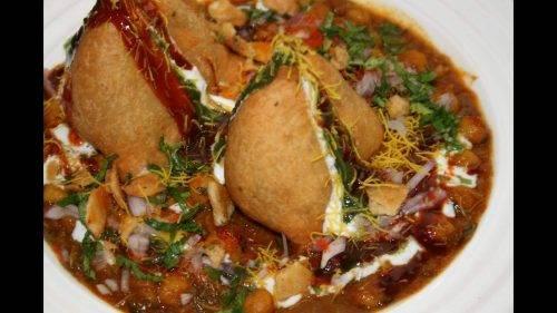 Samosa Chat (served hot) - Bombay Chili