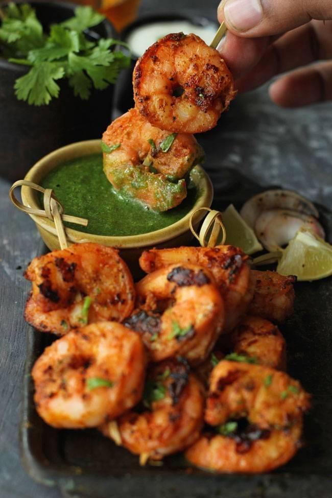 Tandoori Jumbo Shrimp - Bombay Chili