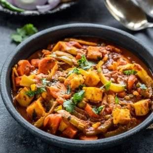 Vegetable Jalfrezi - Bombay Chili