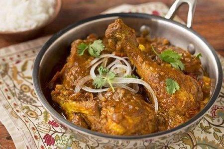 Vindaloo Chicken - Bombay Grill Chili