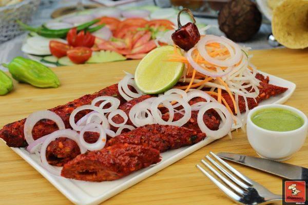 Lamb Sheekh Kabab - Bombay Chili