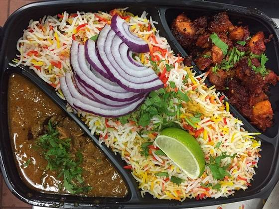 Non-Vegetarian Thali for 2 - Bombay Chili