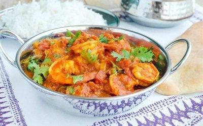 Shrimp Jalfrezie - Bombay Chili