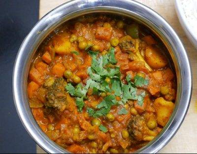 Vegetable Vindaloo - Bombay Chili