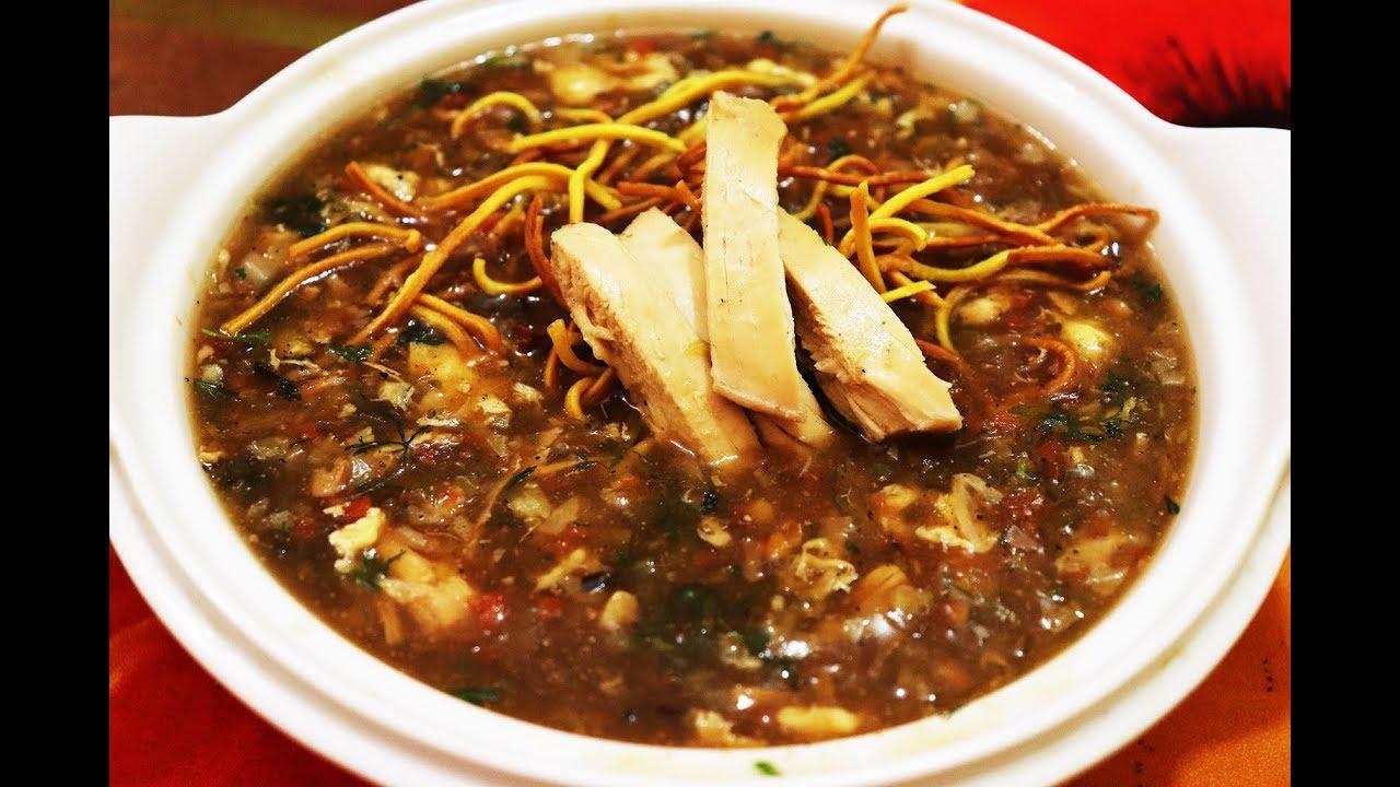 Chicken Manchow - Bombay Chili