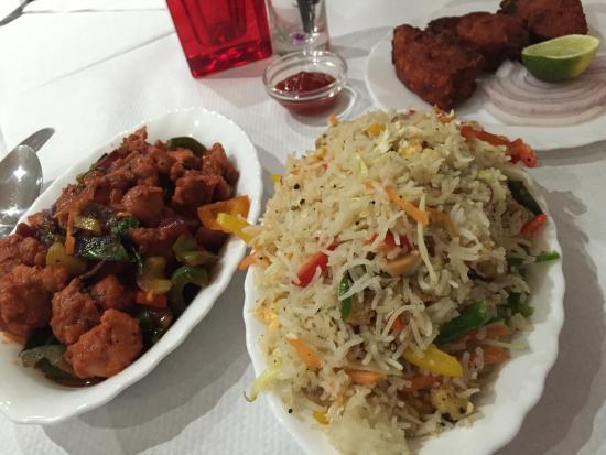 Fried Rice Combo Chili Chicken - Bombay Chili