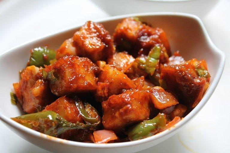 Garlic Paneer - Bombay Chili