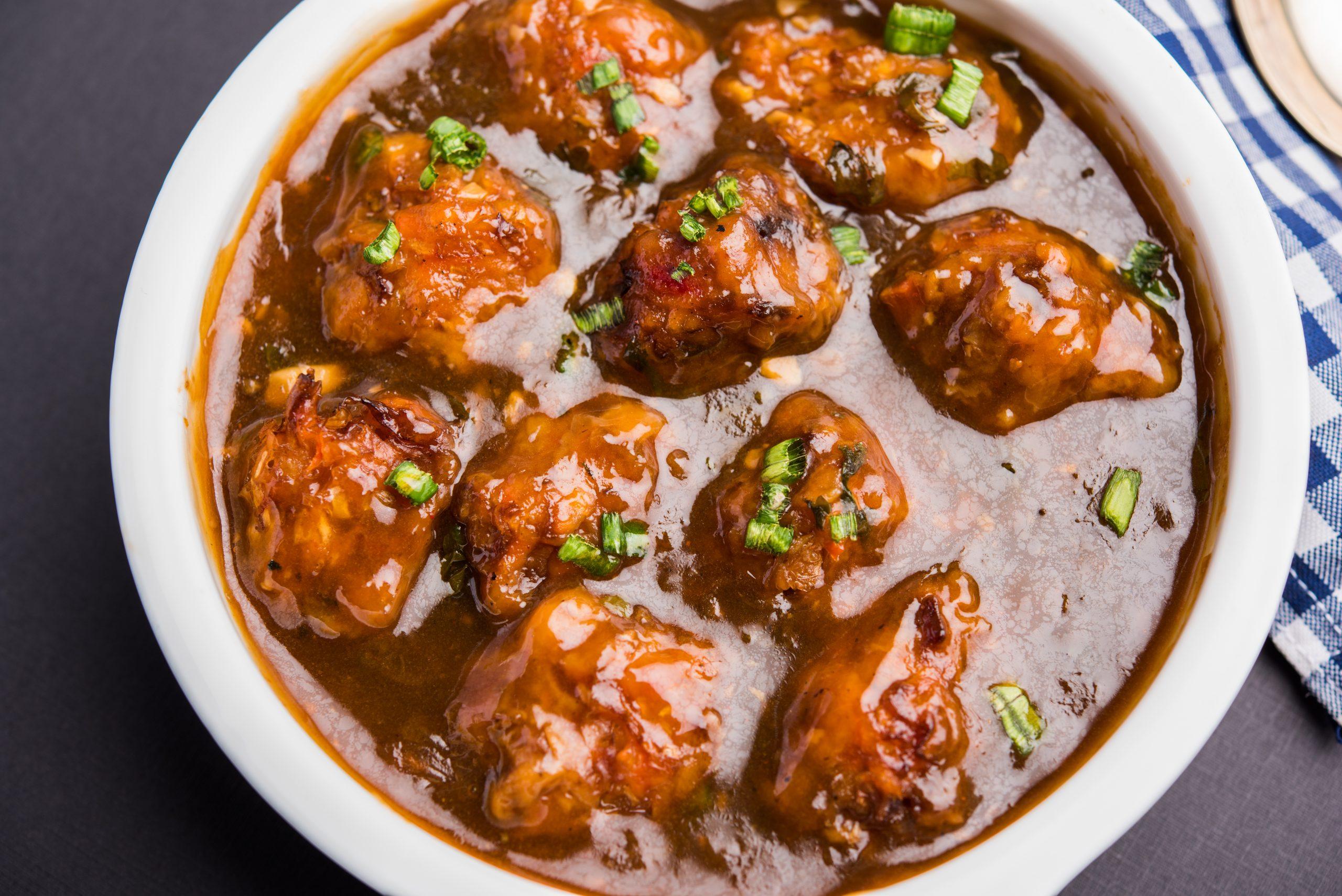Gobi Manchurian Dry/Gravy - Bombay Chili
