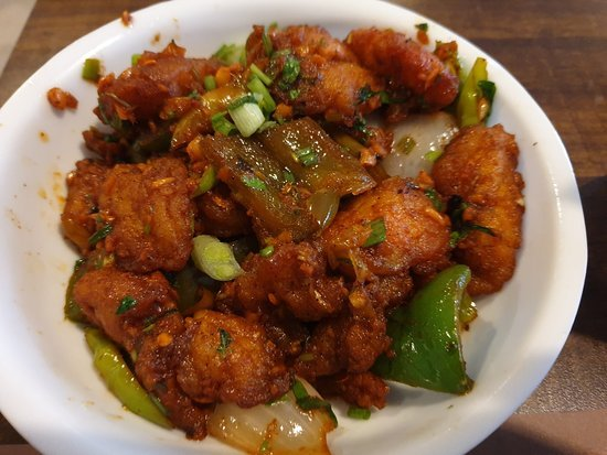 Chilli Fish Manchurian - Bombay Chili