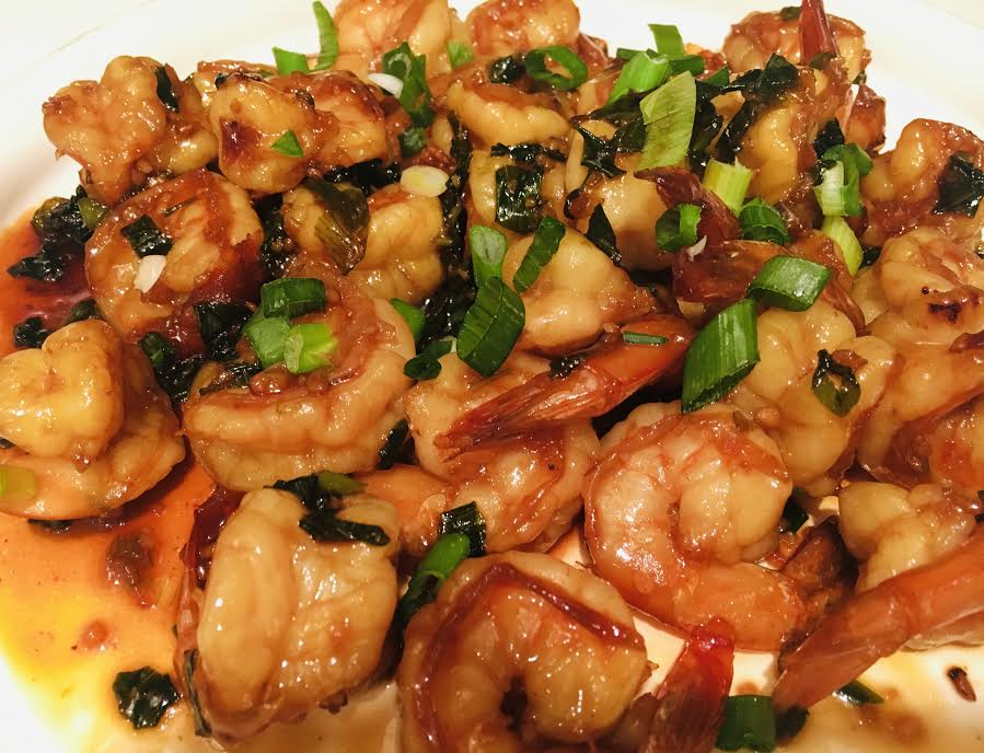 Honey Garlic Shrimp - Bombay Chili
