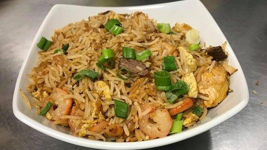 Mixed Fried Rice - Bombay Chili