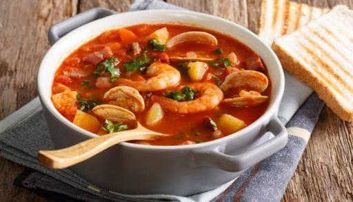 Sea Food Soup - Bombay Chili