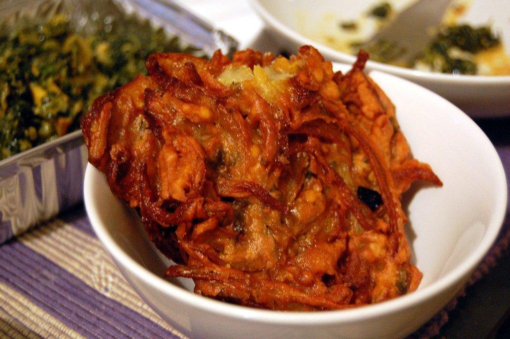 Onion Bhaji - Bombay Chili