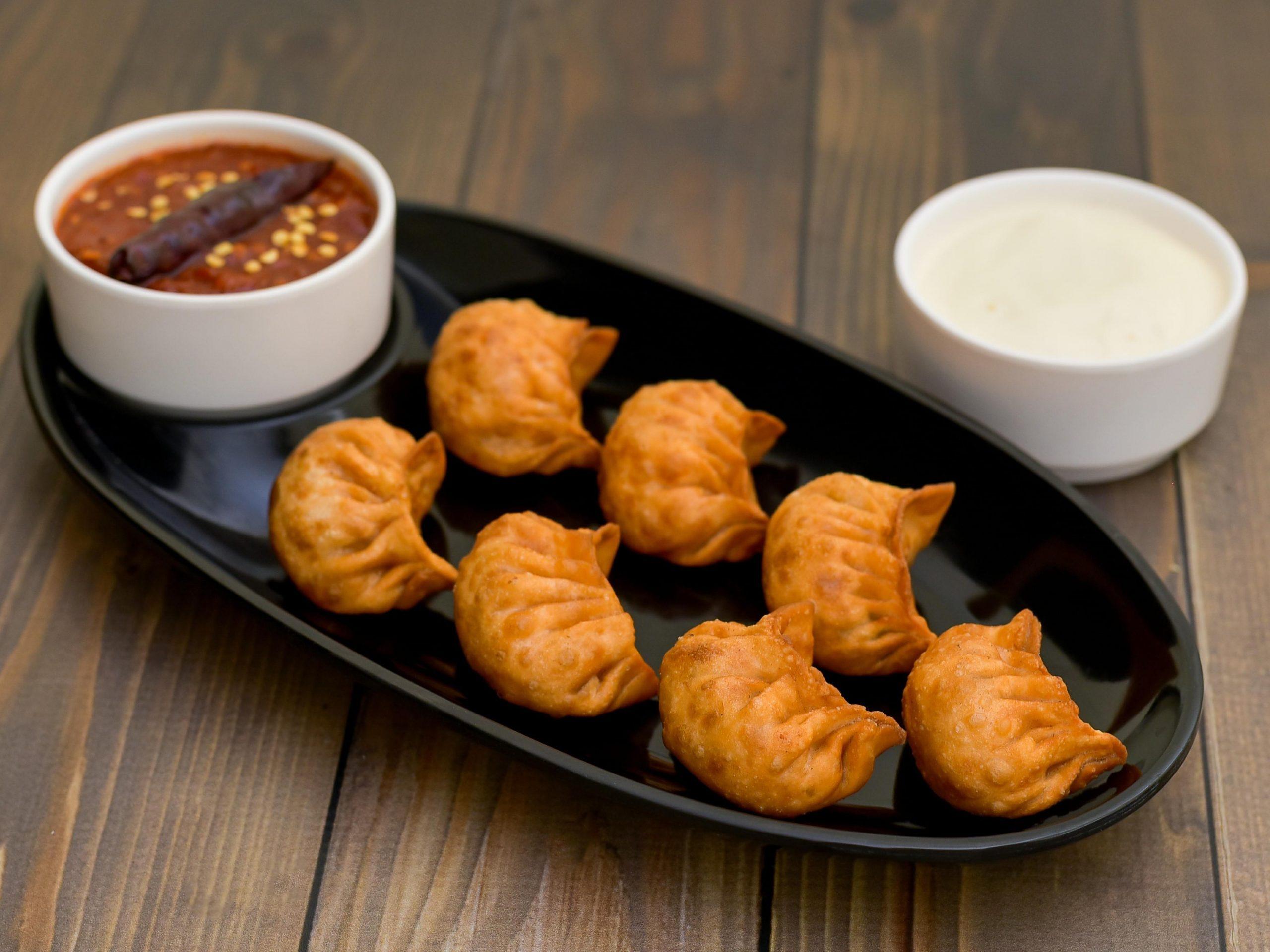 Mixed Fried Momo - Bombay Chili