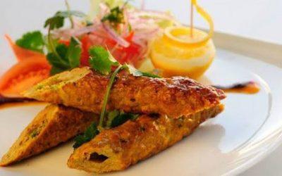 Chicken Sheekh Kabab - Bombay Chili