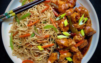 Combo Noodles Manchurian - Bombay Chili