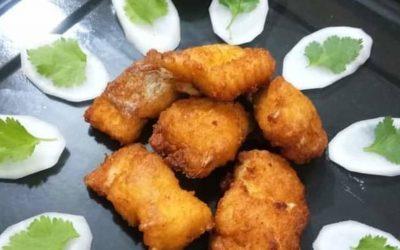 Fish Pakoras - Bombay Chili