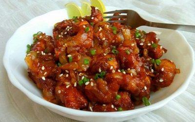 Garlic Chicken - Bombay Chili
