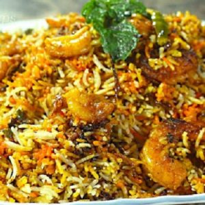 Prawns Fried Rice - Bombay Chili