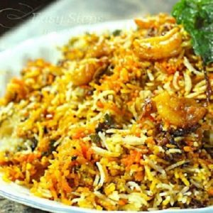 Prawns Fried Rice - Bombay Chili