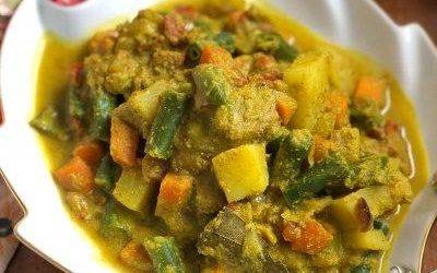 Vegetable Korma - Bombay Chili
