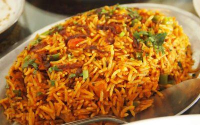 Vegetable Biryani - Bombay Chili