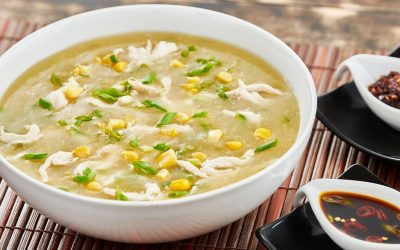 Chicken And Sweet Corn Soup - Bombay Chili