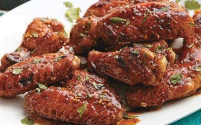 Honey Garlic Chicken - Bombay Chili