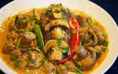 Mutter Paneer or Mushroom - Bombay Chili- Bombay Chili