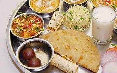 Vegetarian Lunch - Bombay Chili